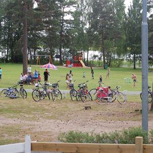 Hjortsjöns camping, Hjortsjöns camping - Badplats