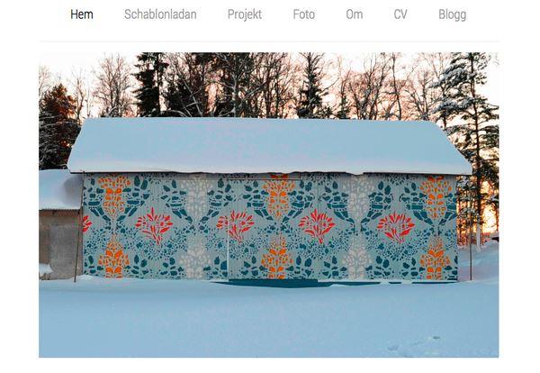 http://helenabratt.blogg.se/, Schablonladan