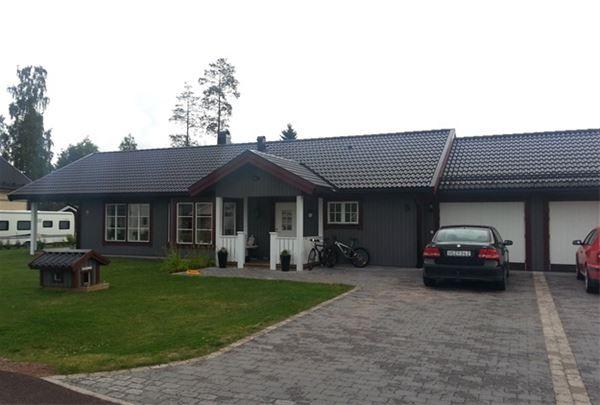 Vasaloppet summer. House M166, Skvattramsvägen, Mora.