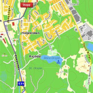 Ställplats i Olofström
