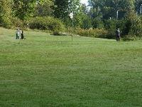 Golfbana vid Resecentrum