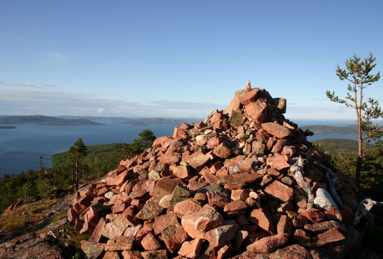 foto: Kramfors kommun, Mjältön - toppen