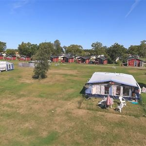 Camping pitch caravan/motorhome (Area Red)