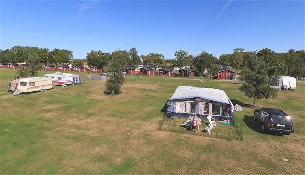 Camping pitch caravan/motorhome (Area Red)