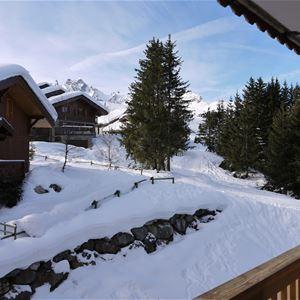 2 pièces 4 personnes skis aux pieds / LE BELVEDERE (montagne de charme)