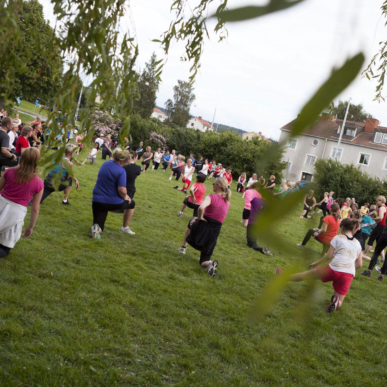 Foto: Smålandsbilder.se,  © Värnamo Näringsliv AB , Träna med GymMix
