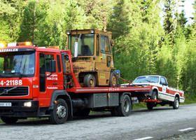 Bilbärgaren i Funäsdalen