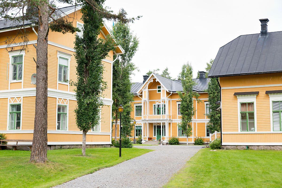 Calle Bredberg, Hostel Fridhem
