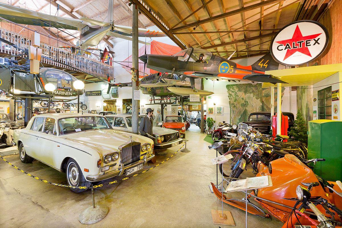 Calle Bredberg, Vännäs Motormuseum