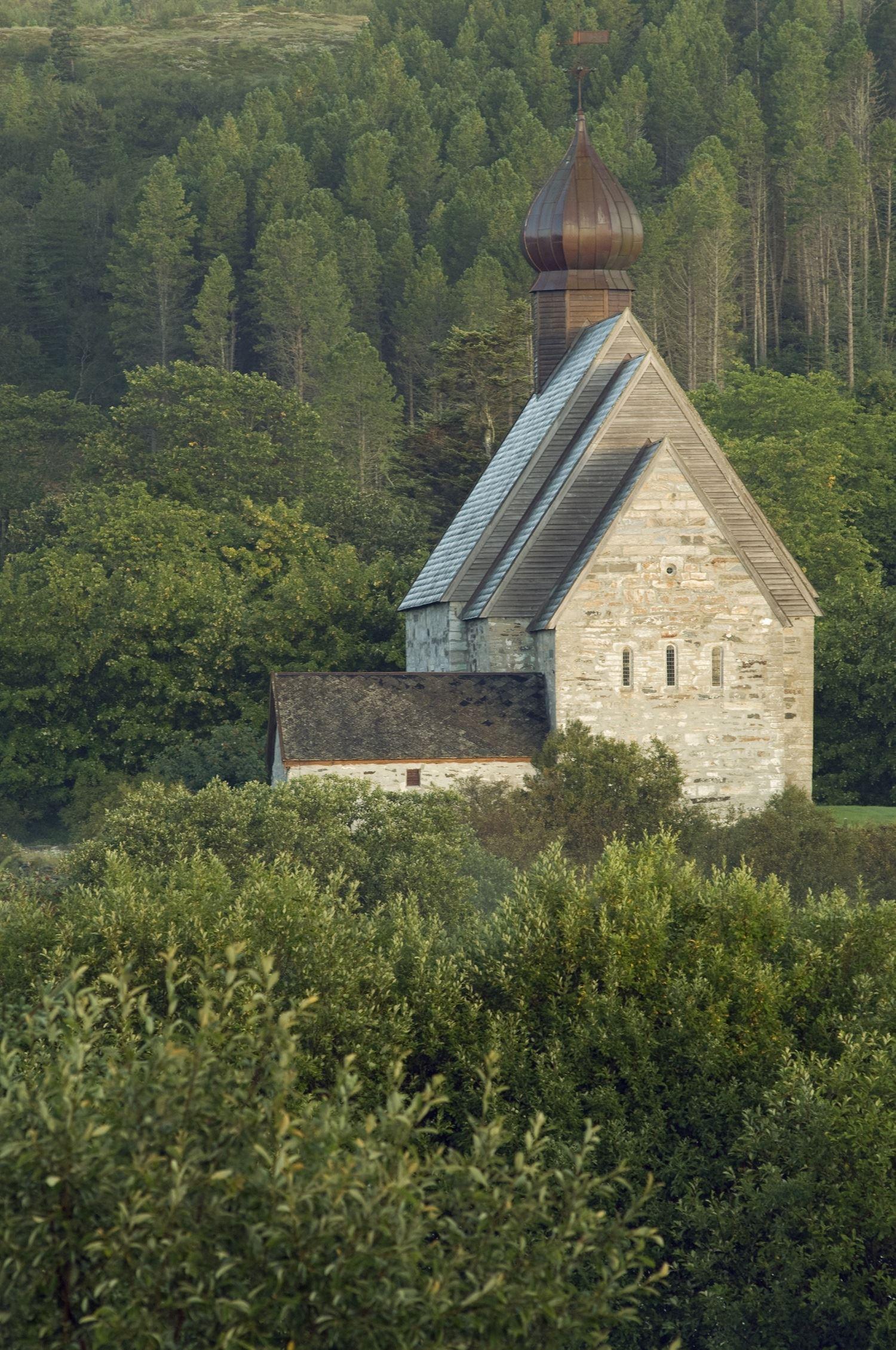 Orsolya Haarberg,  © Helgeland Reiseliv, Dønnes Kirke