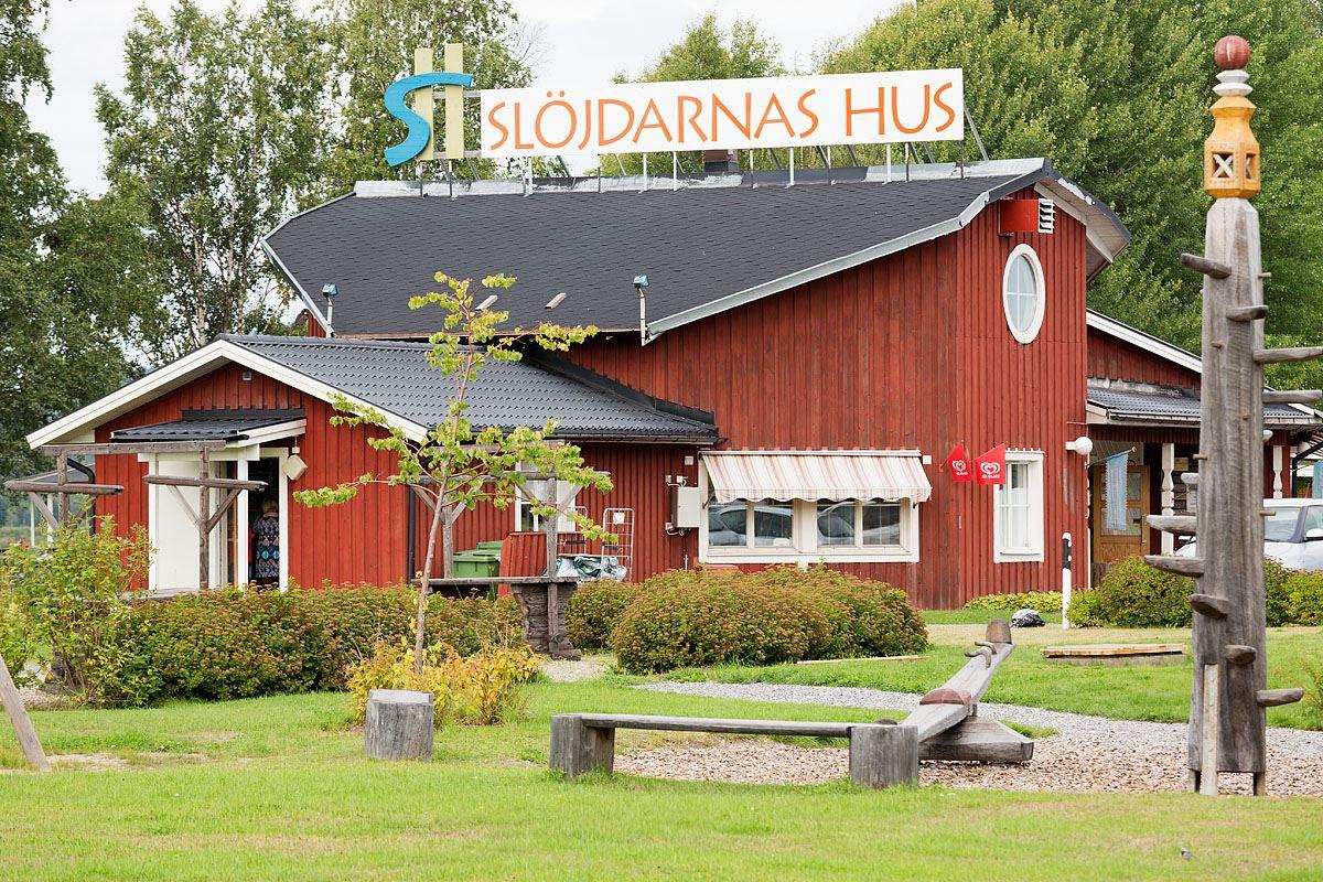 Calle Bredberg, Slöjdarnas Hus (Das Haus der Handwerker)