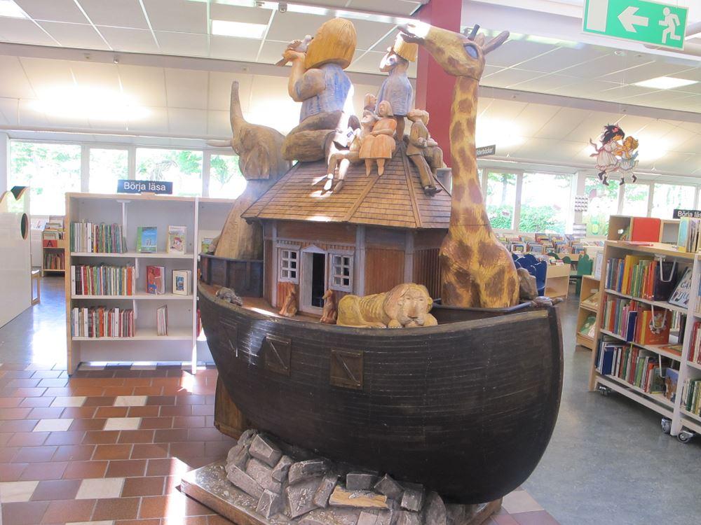 Sagostunder på biblioteket