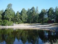 Badplats i Vallvik