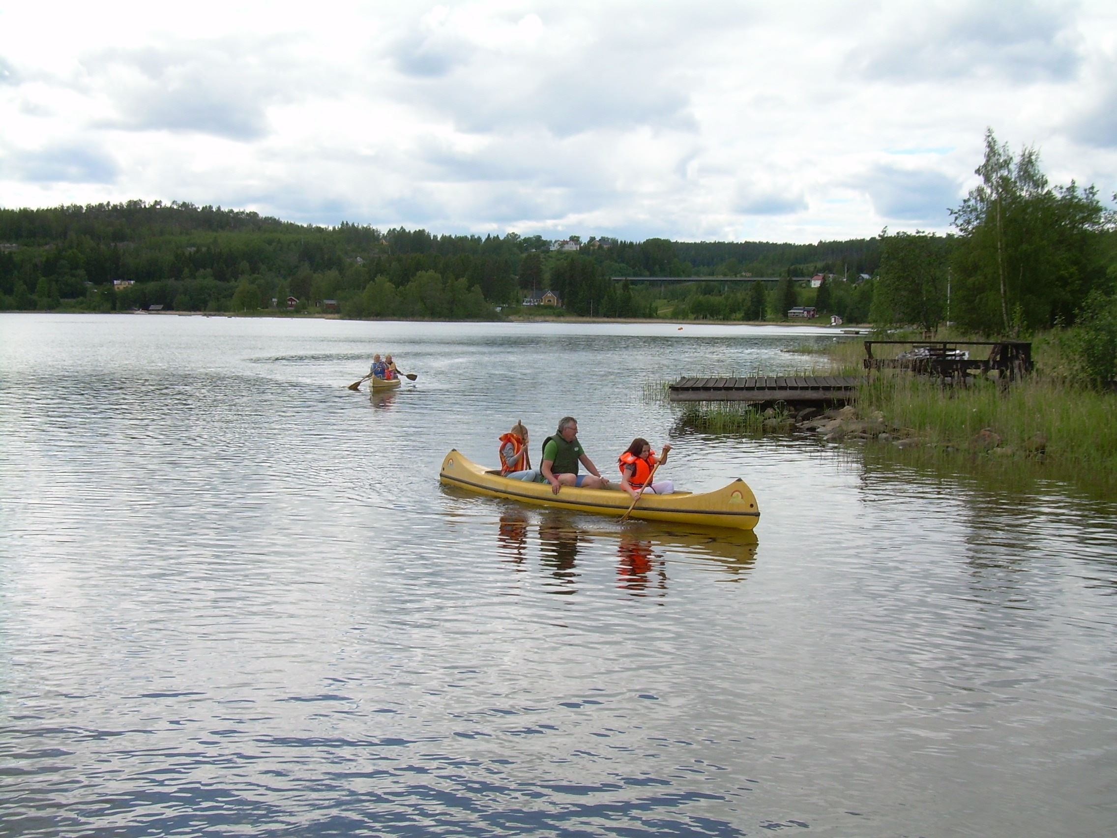 Utviksgården - Scouter på kanottur