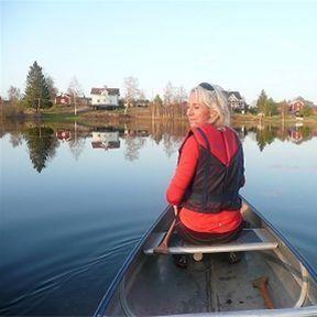 Canoe rental at Malungs Camping