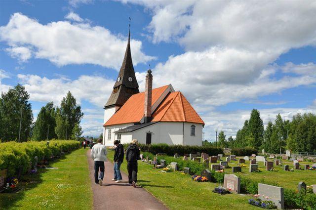 Ljuständningsgudstjänst i Venjans kyrka