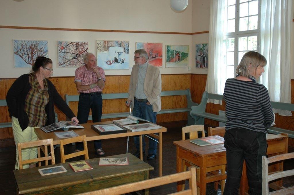 Skälsbäcks skolmuseum (school museum)