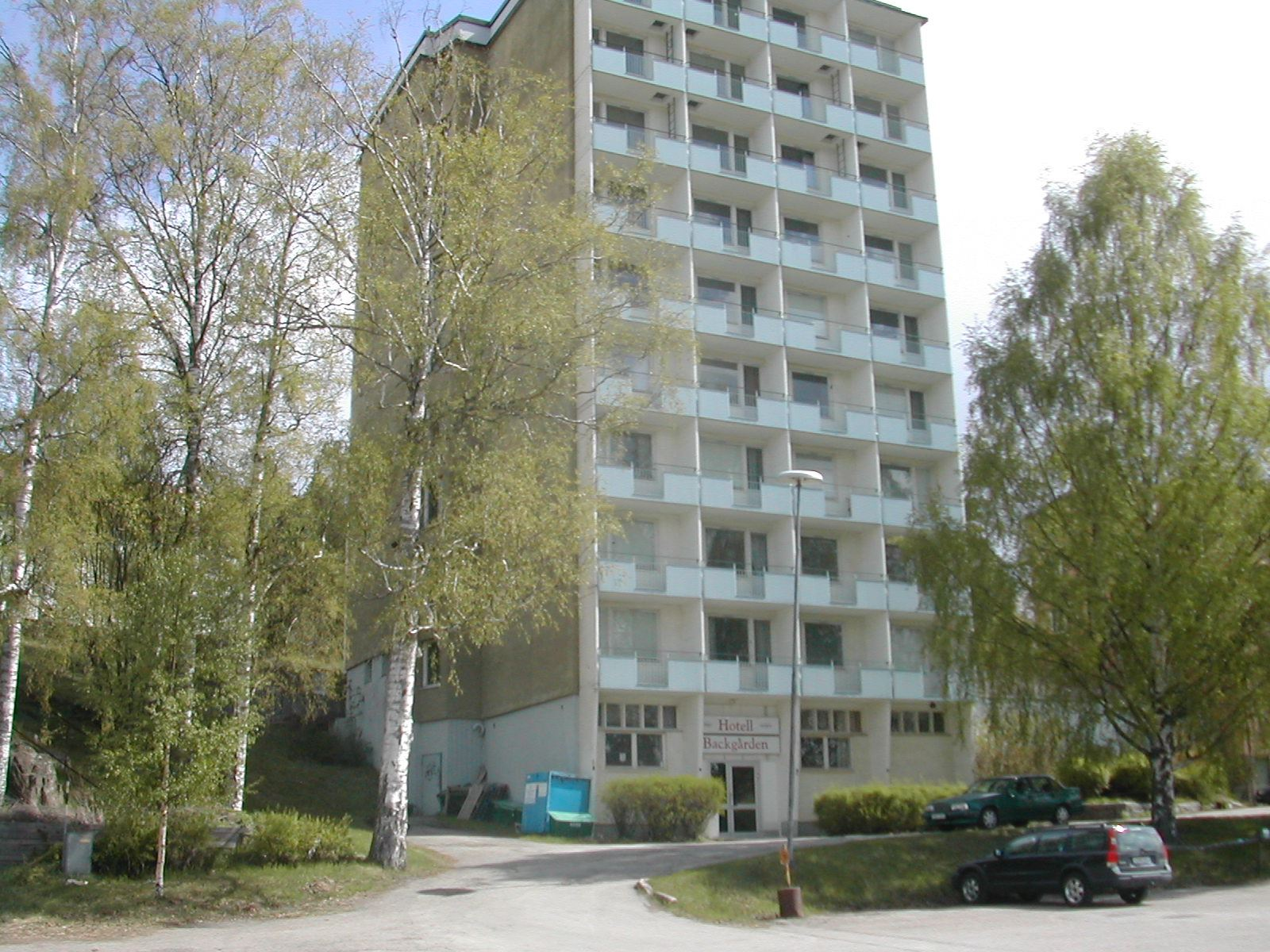 Apartment hotel - Backgården