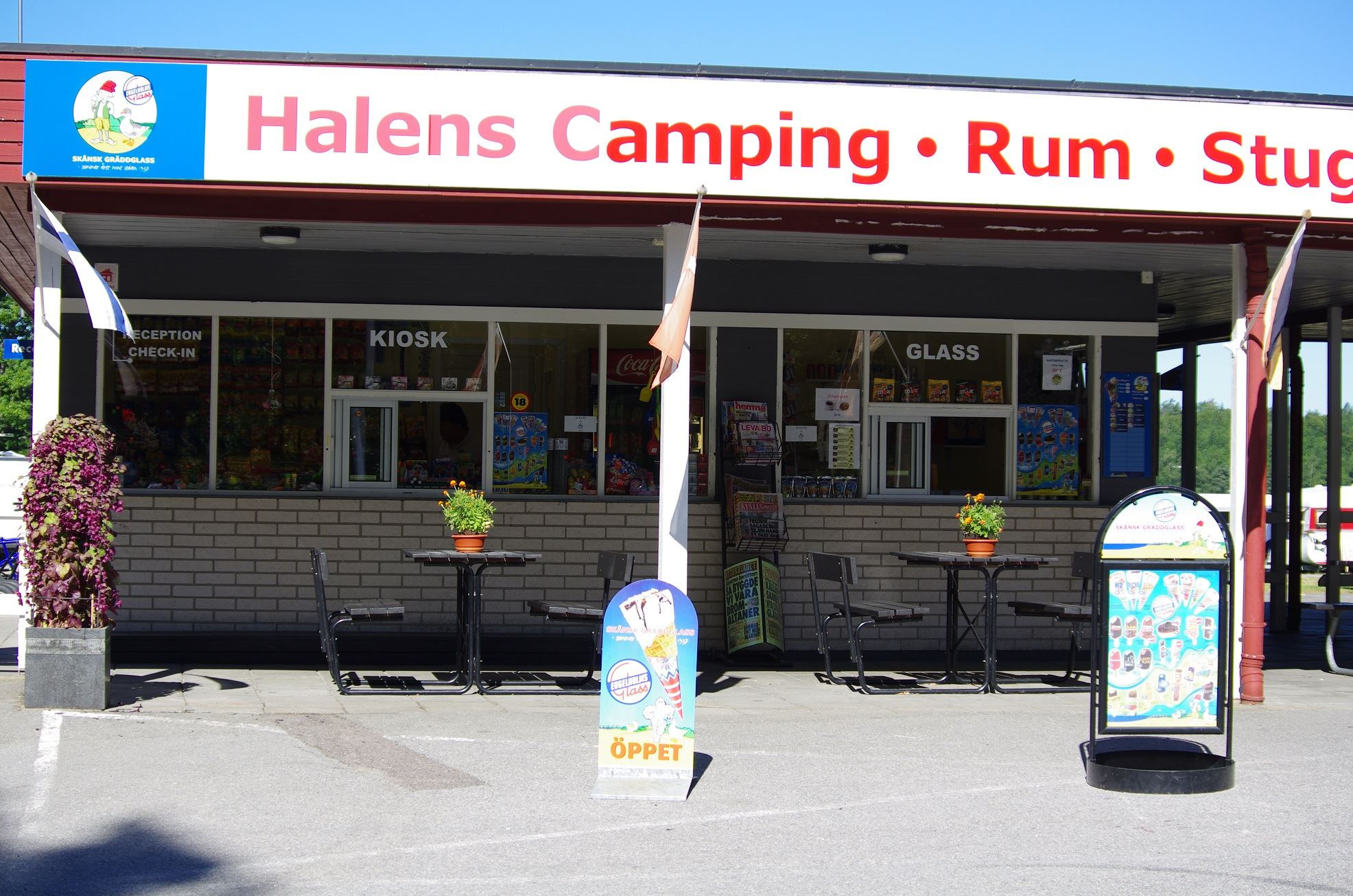 Halens Camping / Cottages