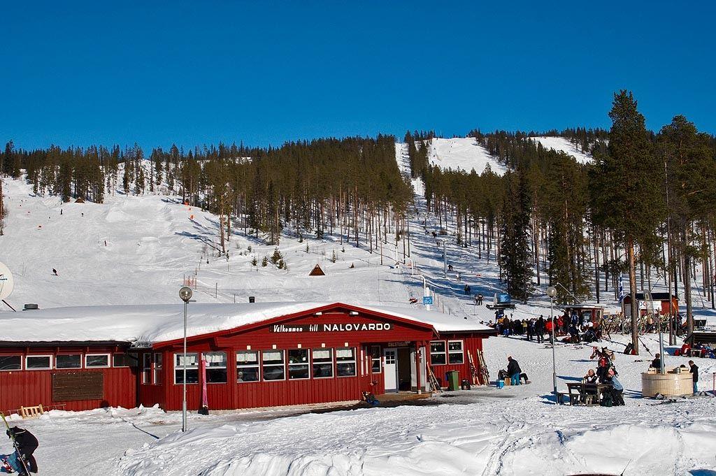 Nalovardo Skidanläggning Restaurang