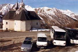 Private taxi transfer for 5 people Alpes Savoie Taxi