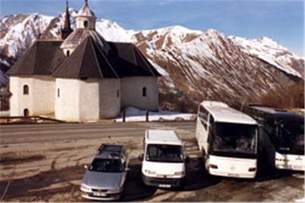 TRANSFERT PRIVE depuis la gare de MOUTIERS avec ALPES SAVOIE TAXI