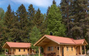 Hedesunda camping - Stuga Lax