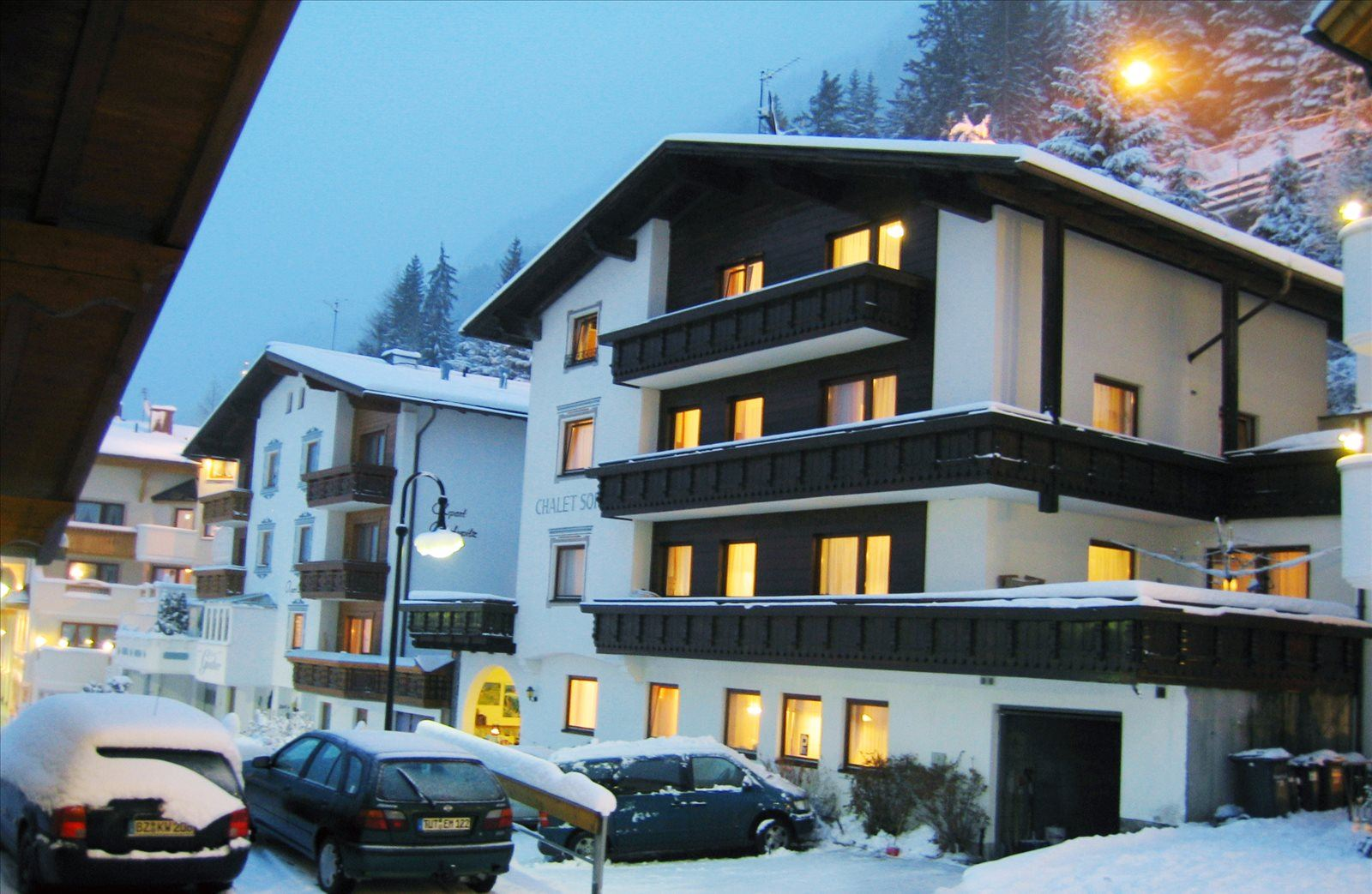 Appartments-Chalet Sofie