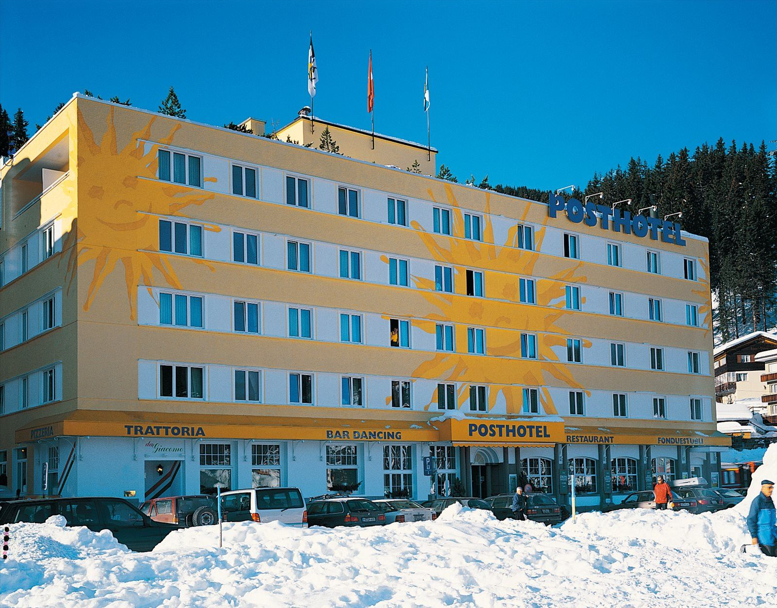 Posthotel Holiday Villa Arosa