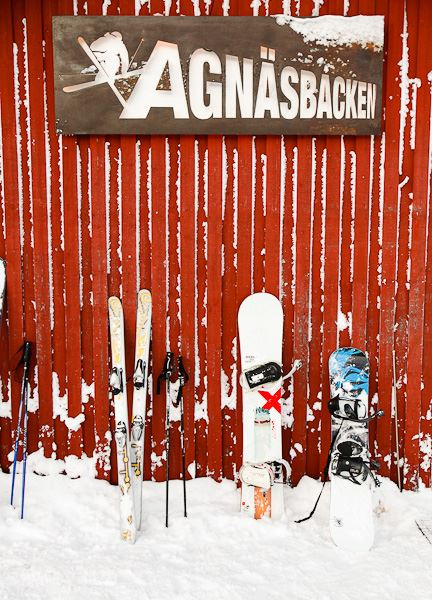 Agnäs Husvagnscamping - The Caravan Camp at Agnäsbacken's Ski Resort