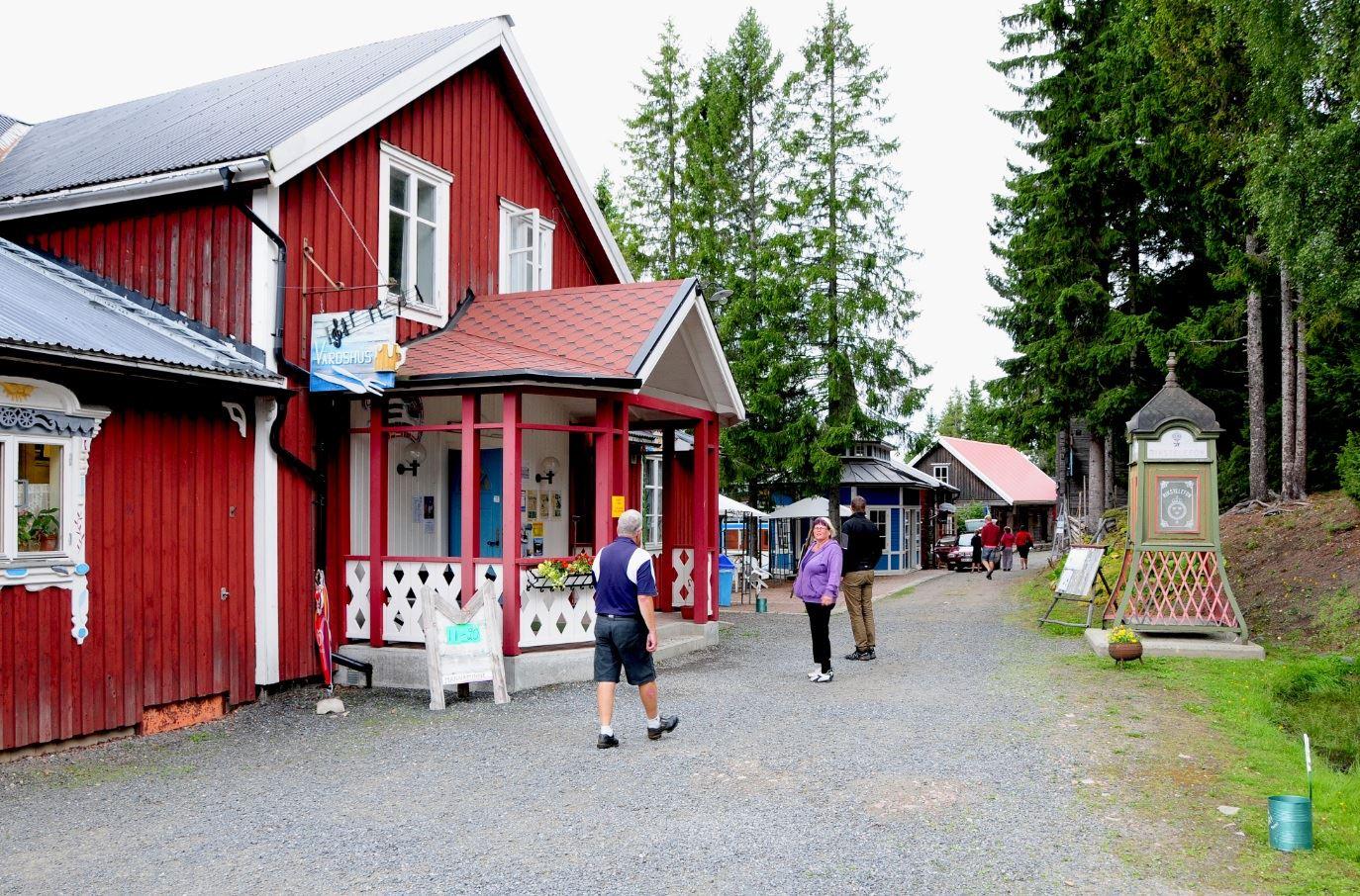 © Kramfors kommun, Besökare på Mannaminne