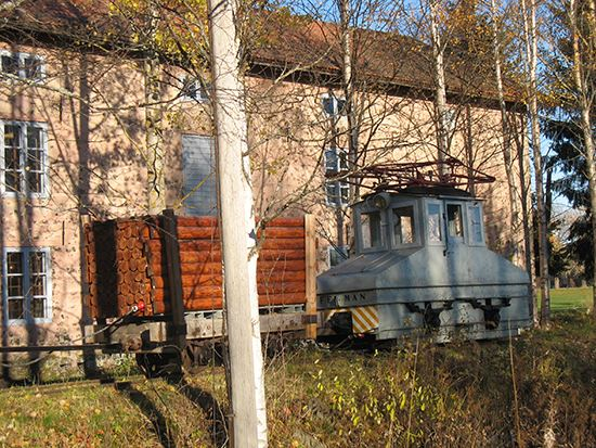 Ironworks Museum and ironworks railway
