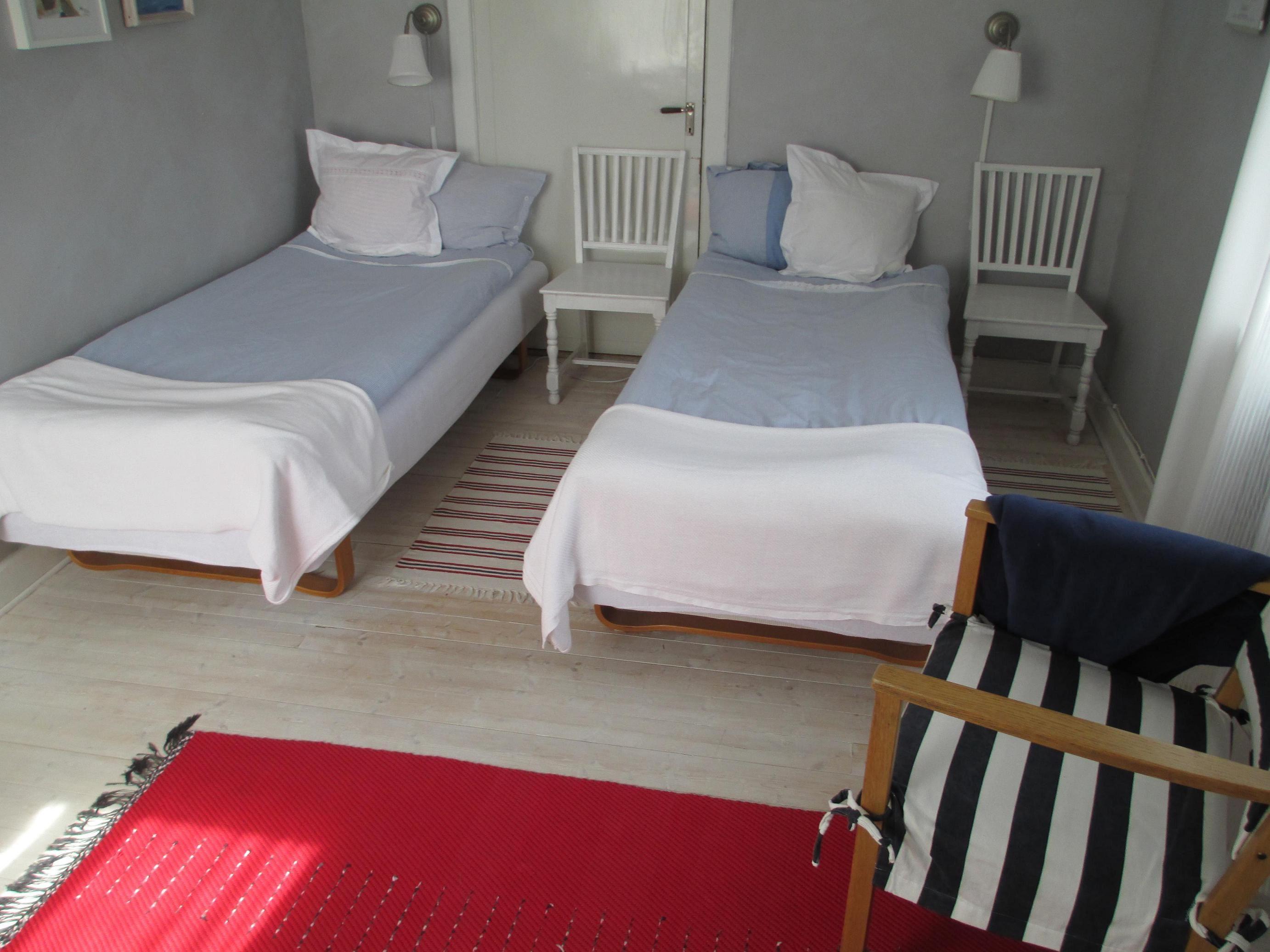 foto: Lisa Reil, Bed & Breakfast Åsäng Höga Kusten - blå rummet