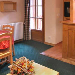 Lägenhet för 4 personer med 2 rum på Alpina Lodge Les 2 Alpes