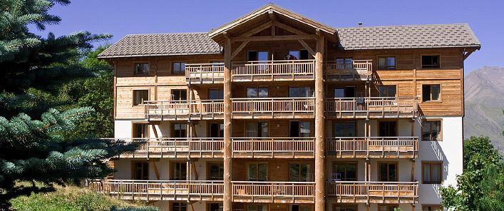 Lägenhet för 8 personer med 4 rum på L'Alba Les 2 Alpes