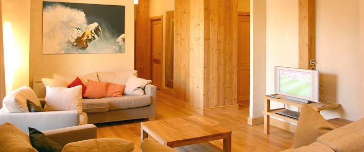 Lägenhet för 8 personer med 5 rum på Le Cortina Les 2 Alpes