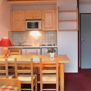 Lägenhet för 6 personer med 2 rum på Residence 1650 Les 2 Alpes