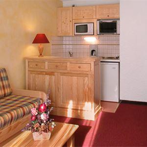 Lägenhet för 4 personer med 1 rum på Residence 1650 Les 2 Alpes