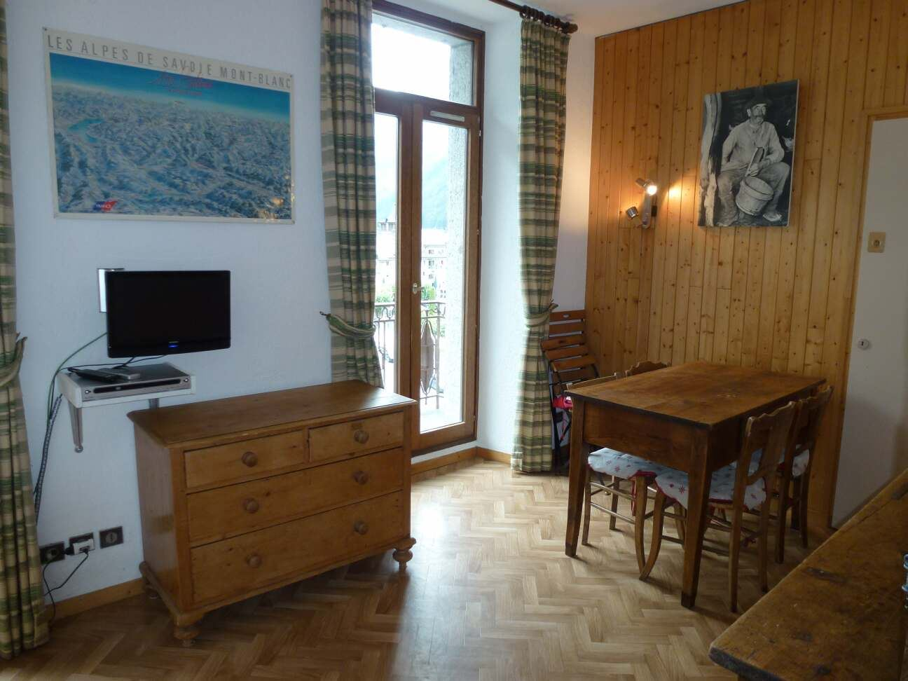 Lägenhet för 2-4 personer med 1 rum på Carlton Charmonix