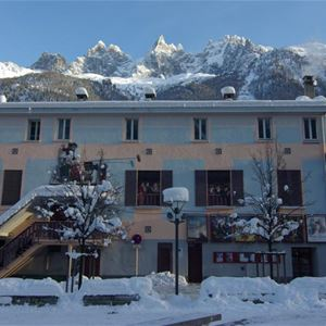 Lägenhet för 4 personer med 3 rum på Cursal Charmonix