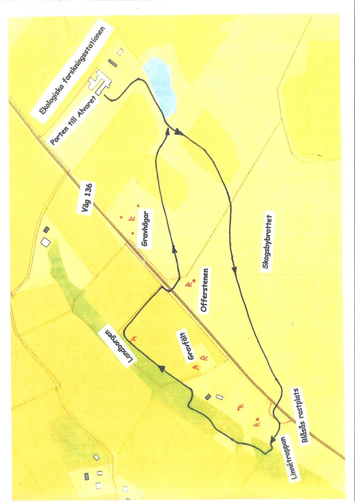 Gröna slingan - hike trail