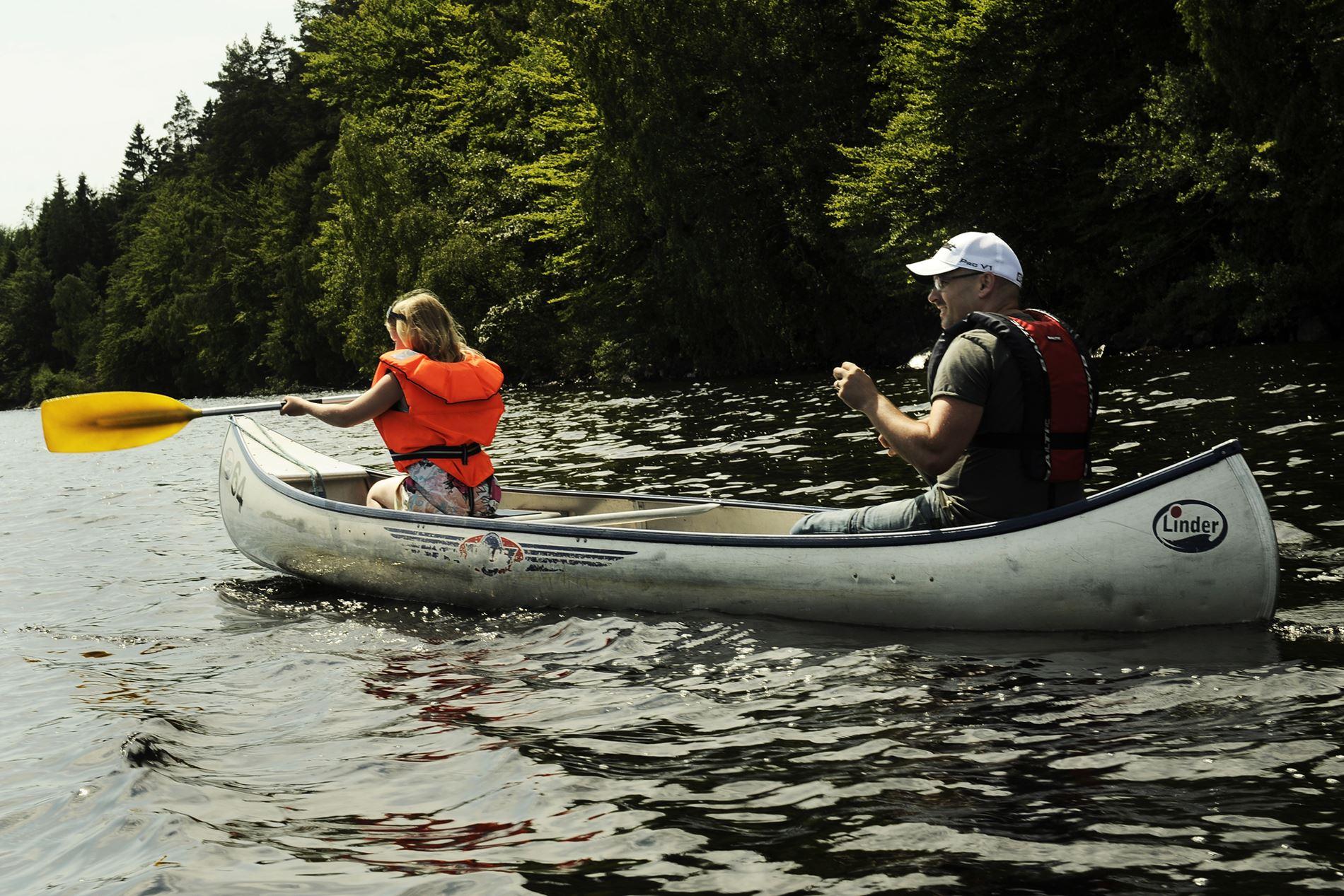 Fotograf: Precious People, Paddla med Immelns kanotcenter