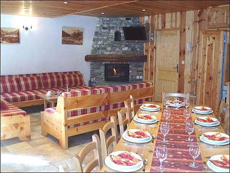 Feriehus Chalet Bandire for opp til 12 personer med 7 rom - Val d'Isère