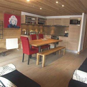 Lägenhet för upp till 6 personer med 3 rum på Telemark - Val d'Isere