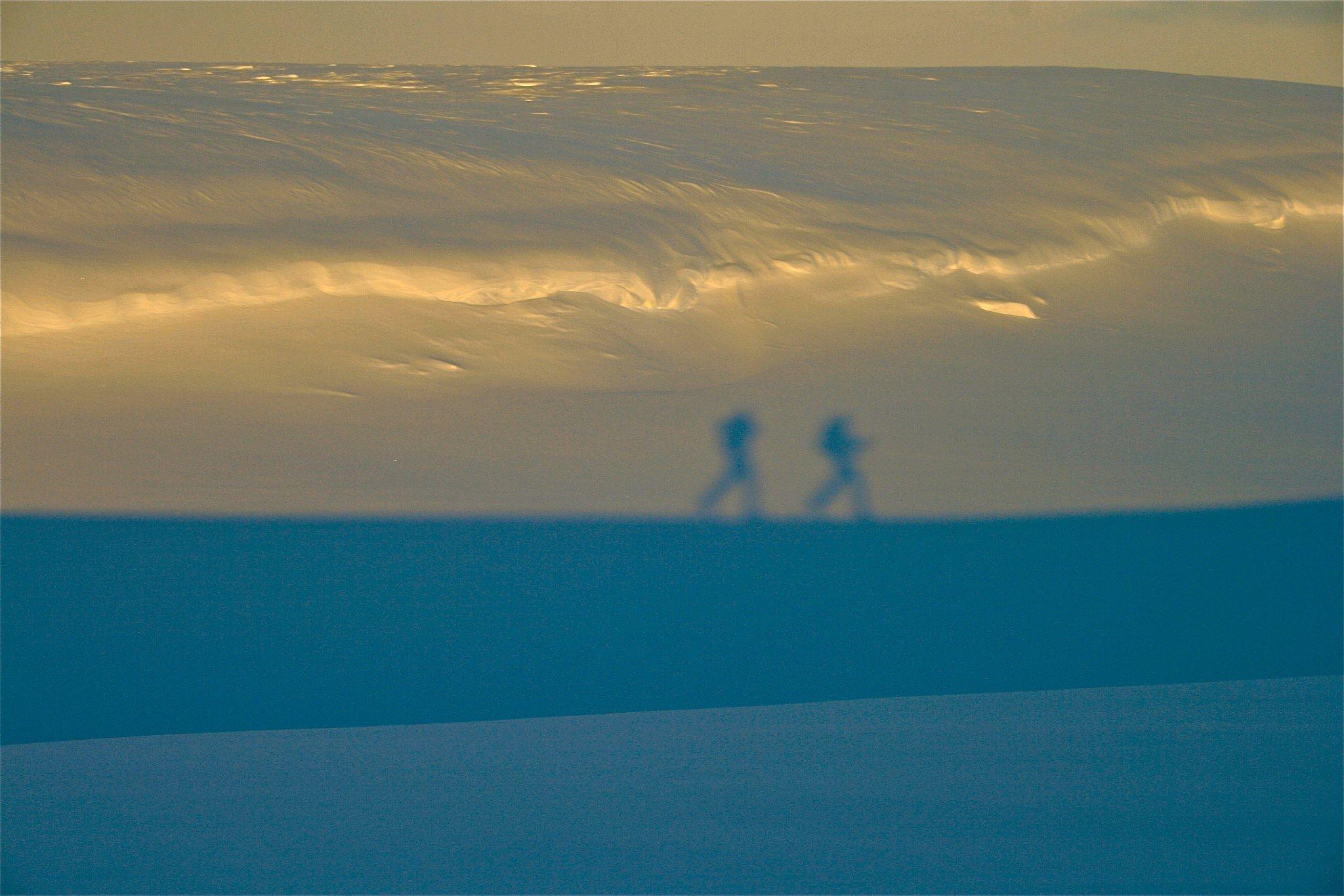 Ski og hundeslede tur