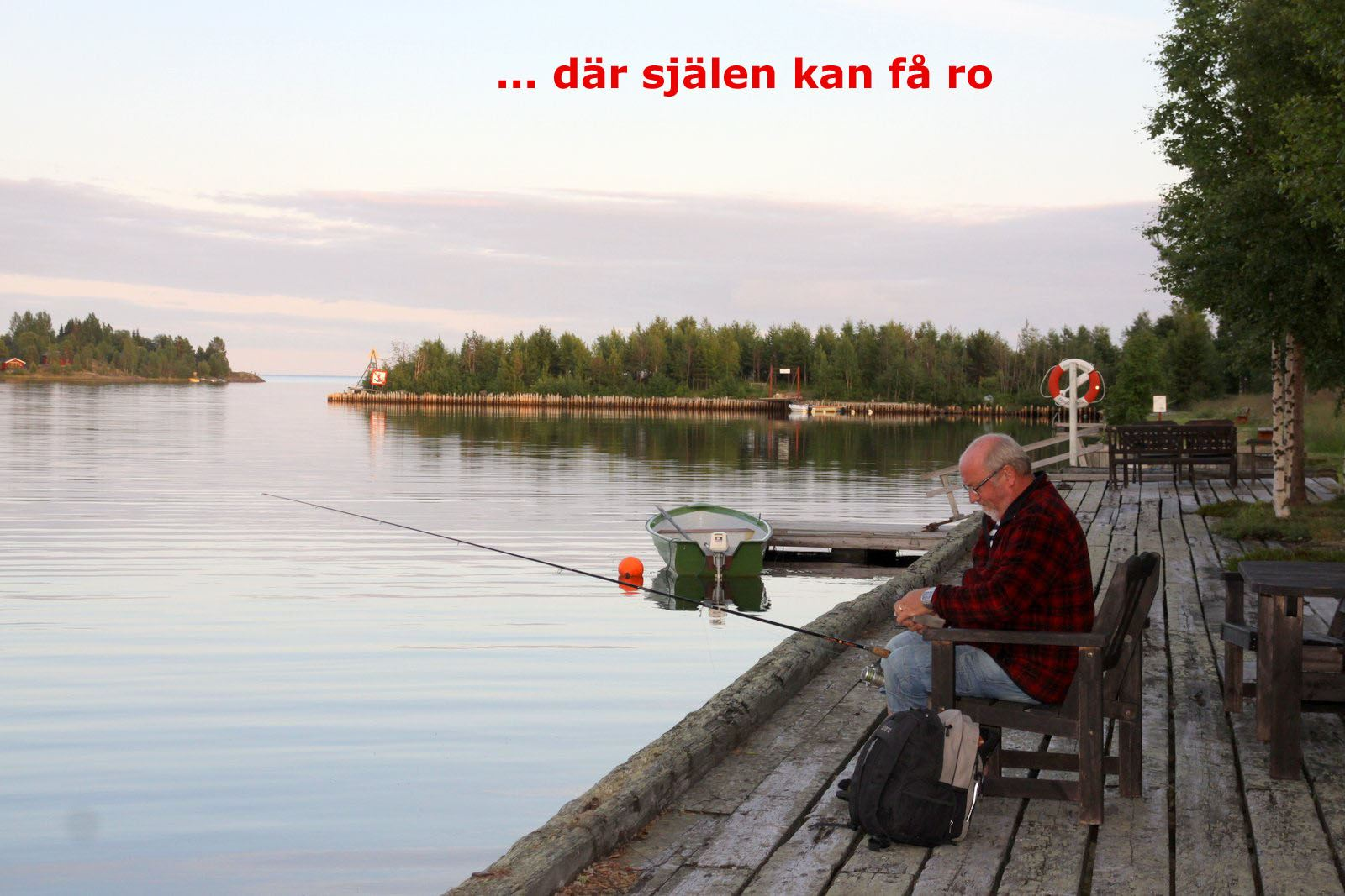 Staffan Stenlund, Camping am Meer – Sikeå Havscamping