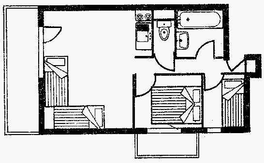 Lägenhet för upp till 4 personer med 3 rum på Valblanc - Val d'Isère