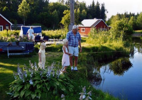 © Siggaboda damm, Fishing arrangements at Siggaboda Damm