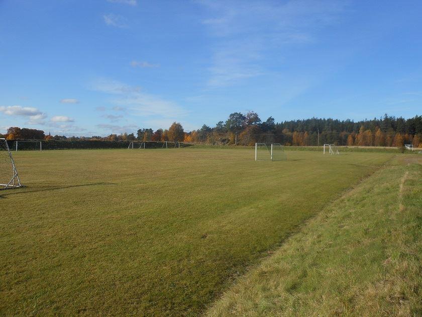 fotbollsplan Viskadalens folkhögskola