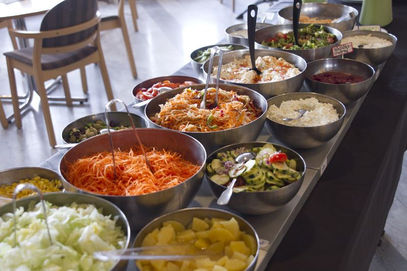 Vilhelmina Folkets Hus Cafeteria